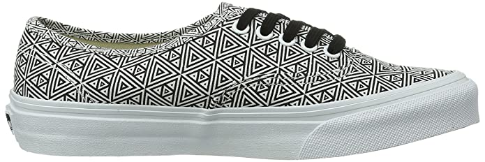 Slim U Bla geometric Para Lona Zapatillas Vans Authentic De q4xAPAE