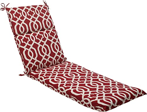 Pillow Perfect Outdoor/Indoor New Chaise Lounge Cushion