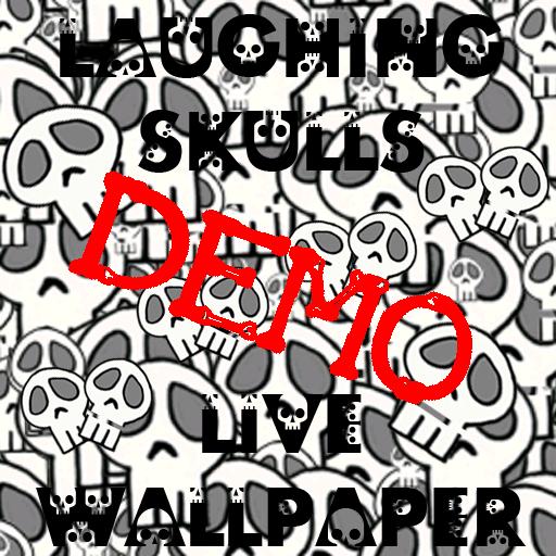 Laughing Skulls DEMO Live Wallpaper ()
