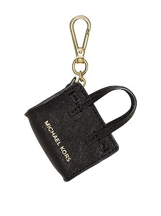 michael kors women s dillon mini leather satchel purse carabiner rh amazon co uk