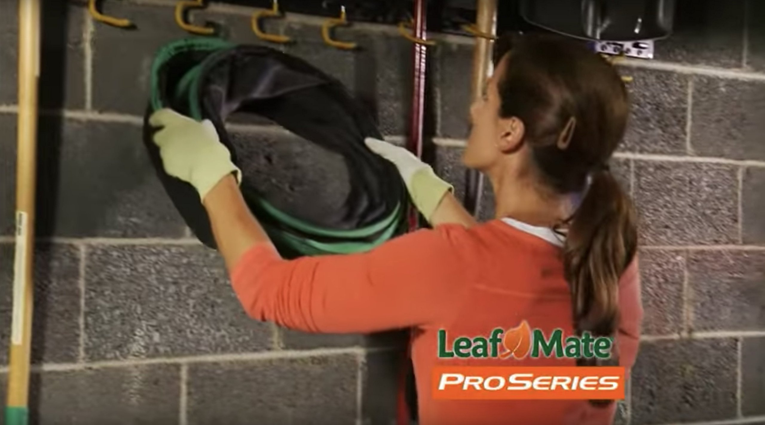 Leafmate Paper Bag Funnel, Heavy Duty Leaf and Lawn, Yard Waste Bag Chute