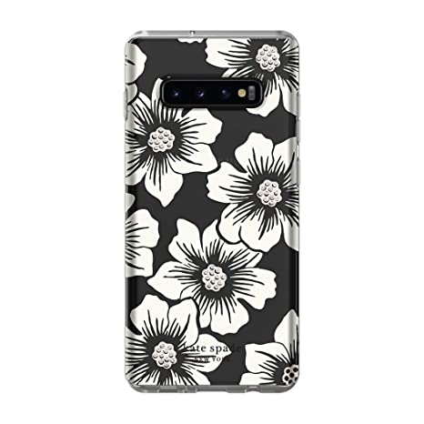timeless design e4ded 34d14 Kate Spade New York Phone Case | for Samsung Galaxy S10 Plus | Protective  Clear Crystal Hardshell Phone Cases with Slim Design and Drop Protection -  ...