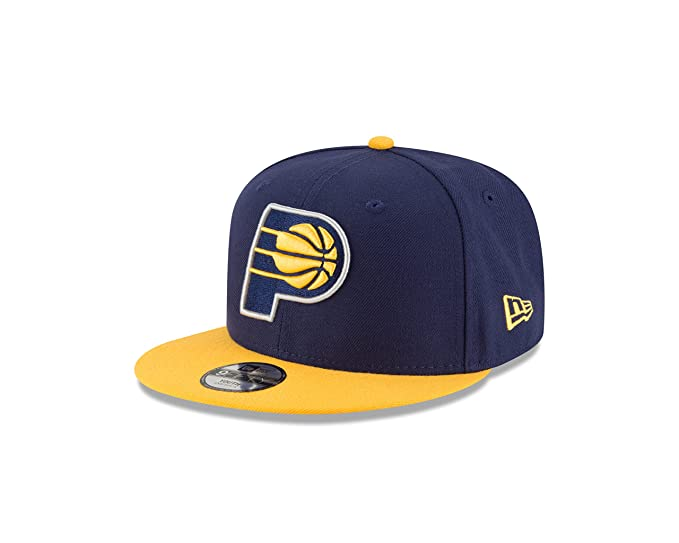 hot sale online d5236 88180 Amazon.com   NBA Indiana Pacers Boys 9Fifty 2Tone Snapback Cap, One Size,  Navy   Clothing