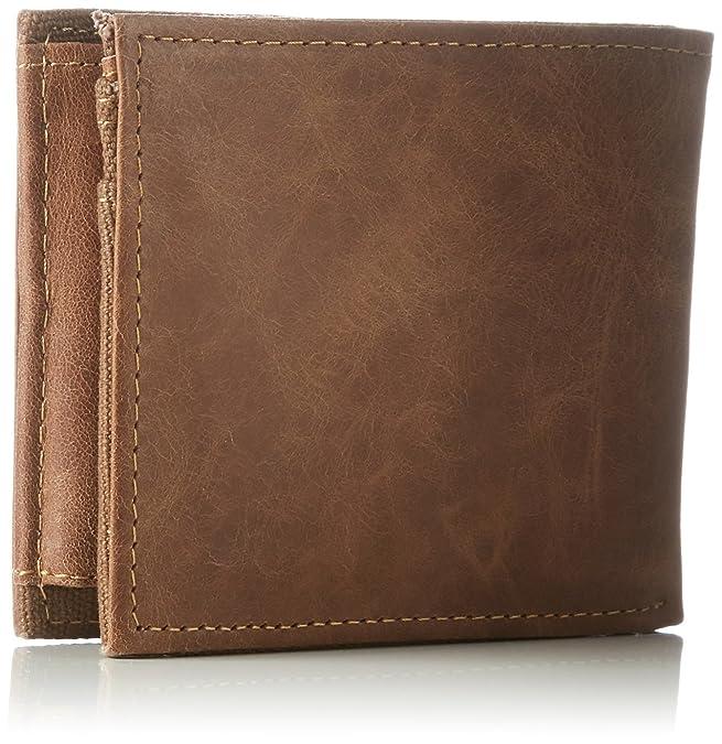 0fa69bd7f Element Z5LWA4 ELF6 - Billetera de Cuero Hombre, Color Marrón, Talla 11x9x2  cm (B x H x T): Amazon.es: Zapatos y complementos