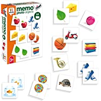 Diset- Juguete educativos Memo Photo Objects, (68946)