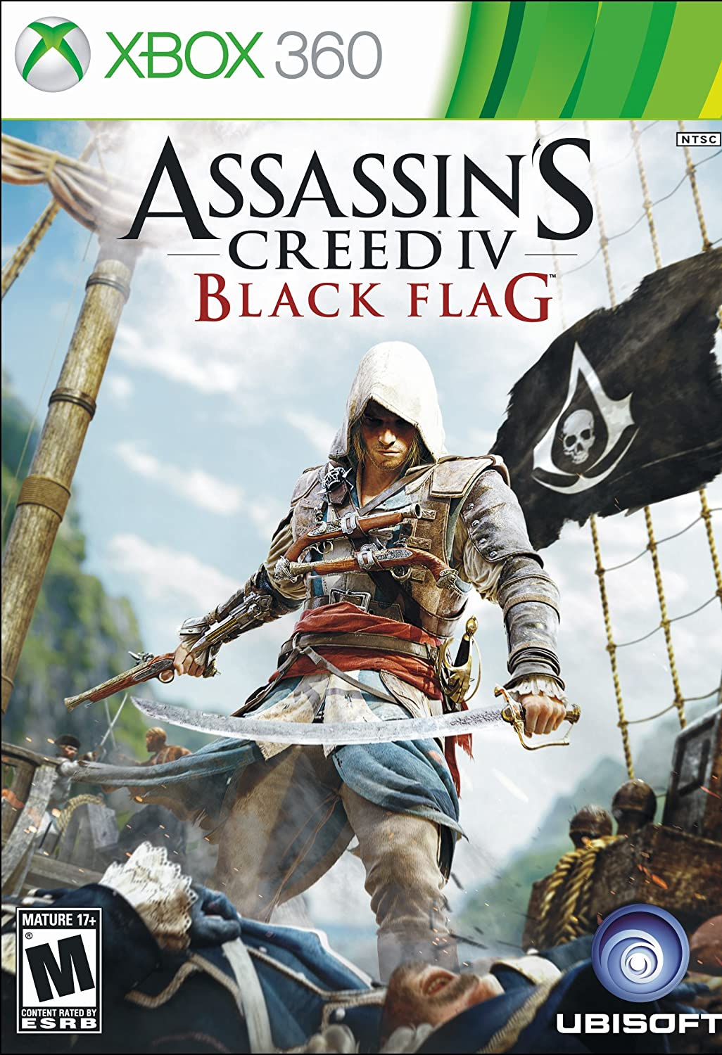 Amazon Com Assassin S Creed Iv Black Flag Xbox 360 Ubisoft