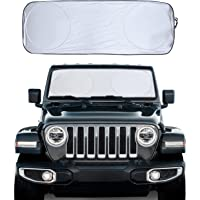 EcoNour Car Windshield Sun Shade - Blocks UV Rays Sun Visor Protector, Sunshade to Keep Your Vehicle Cool and Damage…