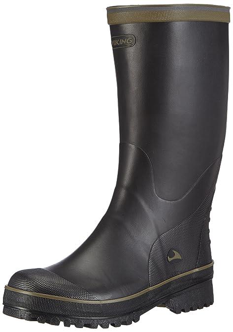 Viking Balder, Botas de Agua Unisex, Negro-Schwarz (Black/Multi 250