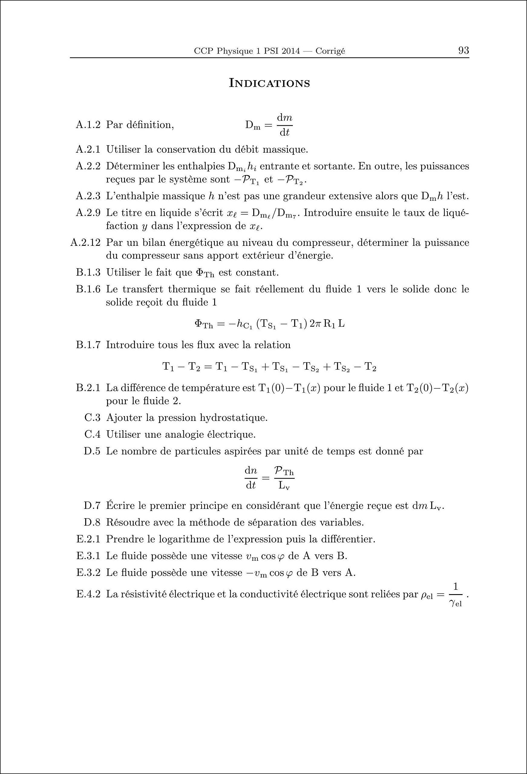 Annales Des Concours 2014 PSI Physique Chimie: 9782351413104: Amazon.com:  Books