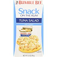 Bumble Bee Snack on the Run Tuna Salad Kit, Ready to Eat, 3.5 oz (Pack of 9)