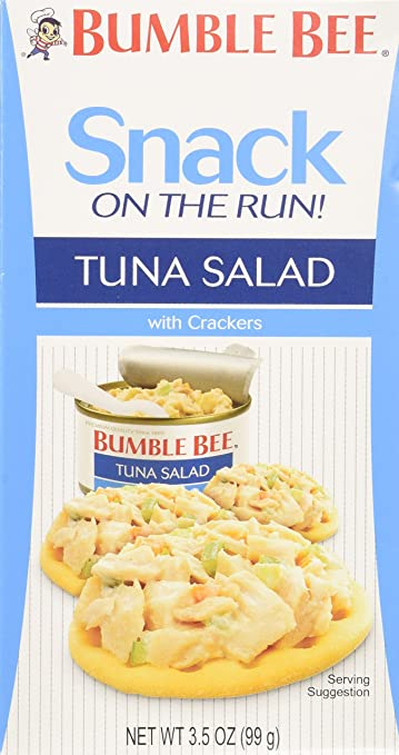 Amazon bumble bee snack on the run tuna salad kit ready to bumble bee snack on the run tuna salad kit ready to eat 35 oz solutioingenieria Gallery