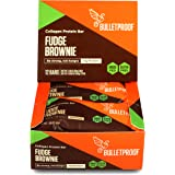 Bulletproof Collagen Protein Bars, Be Strong, Not Hungry, Fudge Brownies (12 Pack)