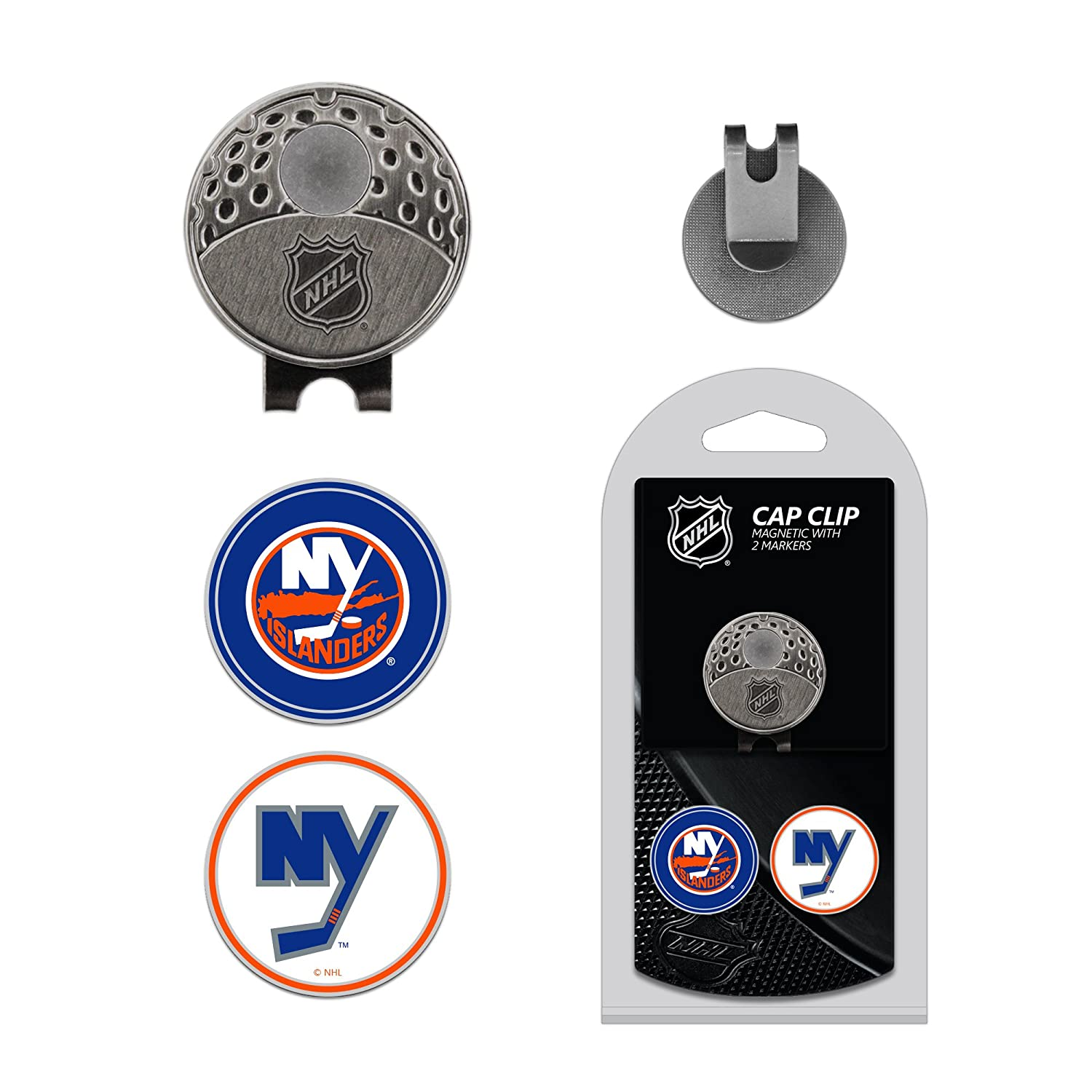 7a39b3687c2 Amazon.com   Team Golf NHL Anaheim Ducks Golf Cap Clip with 2 Removable  Double-Sided Enamel Magnetic Ball Markers