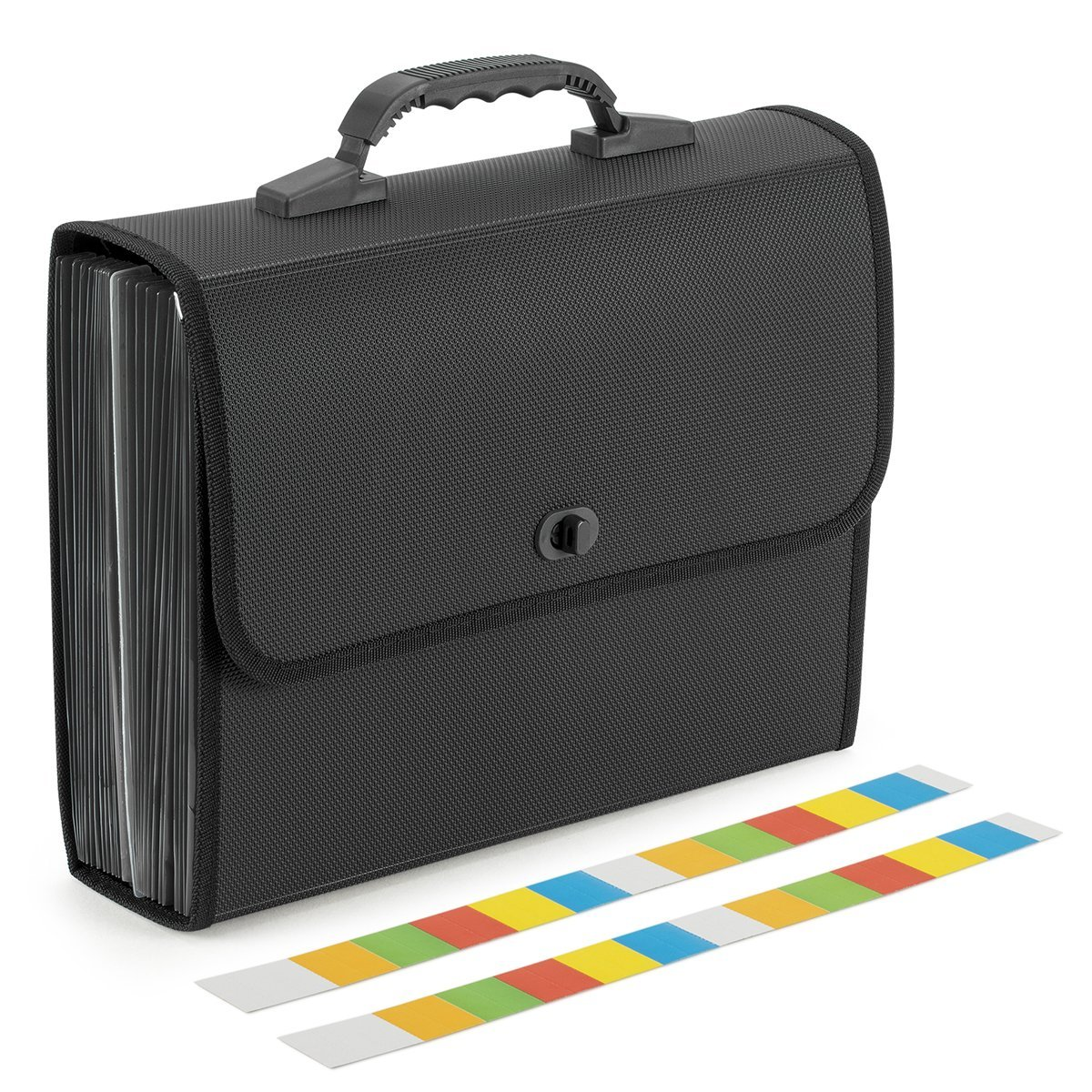 Accordion Folders with Handle - 26 Pocket Expanding Files Folders Accordian File Organizer A4 Size