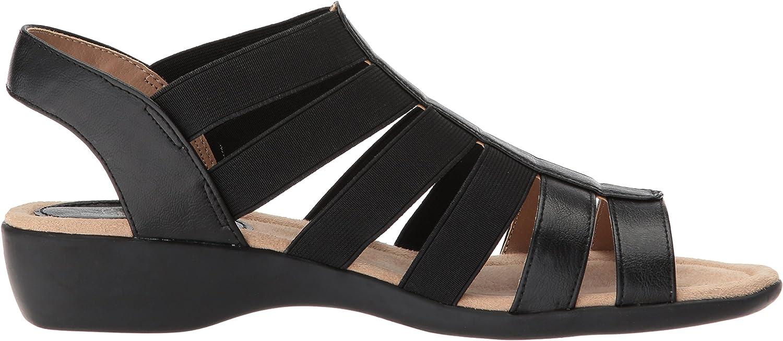 LifeStride Womens Toni Flat Sandal