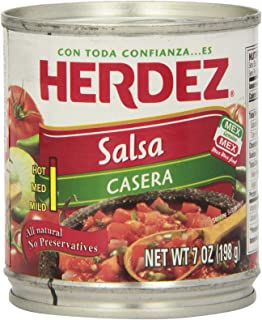Herdez Salsa Casera, 7 Ounce Can (Pack of 12)