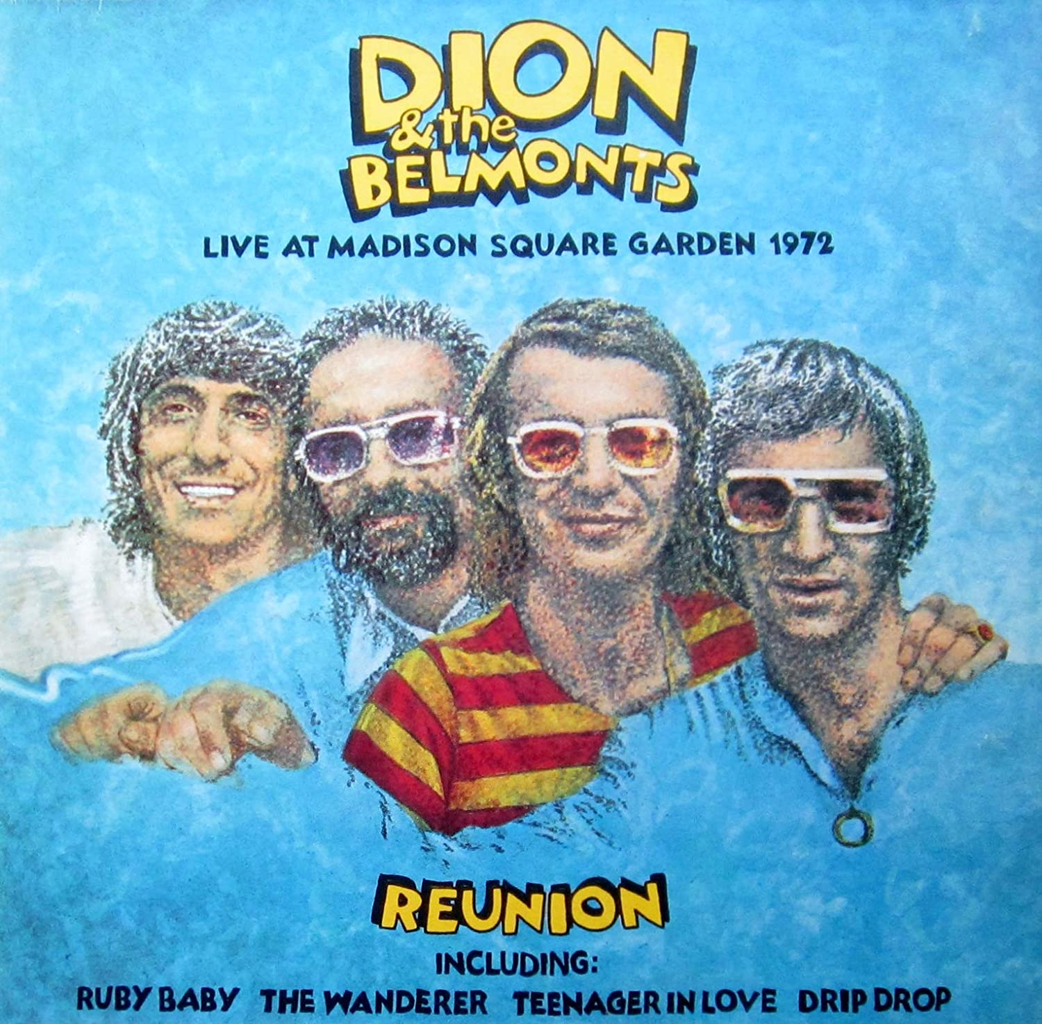 Dion & The Belmonts - Live At Madison Square Garden 1972 - Warner Bros. Records - K 46208