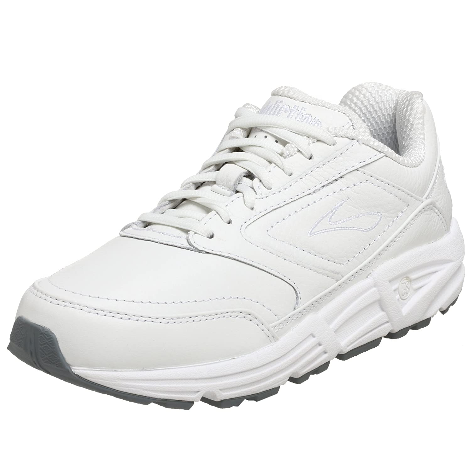 Brooks Women's Addiction Walker Walking Shoes B0012IJX3E 8 B(M) US|White