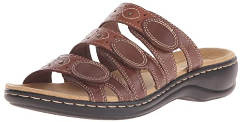 255b441229a Clarks Women s Leisa Cacti Slide Sandal  Buy Online at Low Prices in ...