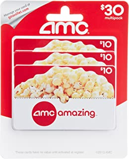 Amazon.com: Regal Entertainment Gift Cards, Multipack of 3 - $10 ...