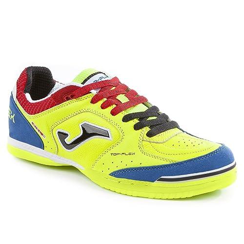Joma Zapatilla de Fútbol Sala Top Flex Solar Yellow: Amazon.es: Zapatos y complementos