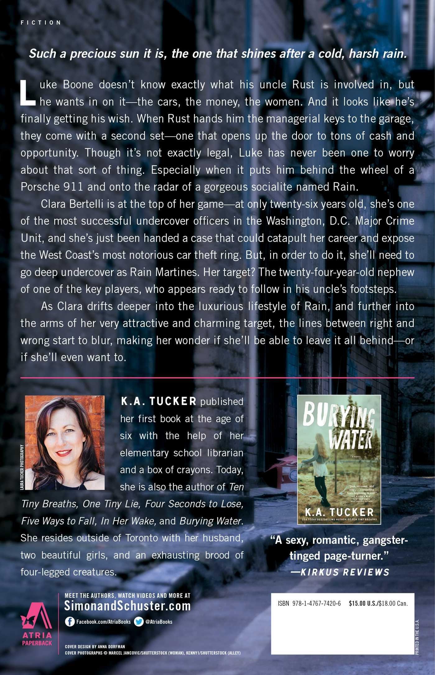 Becoming Rain: A Novel (the Burying Water Series): Ka Tucker:  9781476774206: Amazon: Books