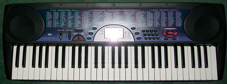 Amazon.com: Casio CTK 451- 61 Full Size Keys - 100 Song Bank Tunes - MIDI: Musical Instruments