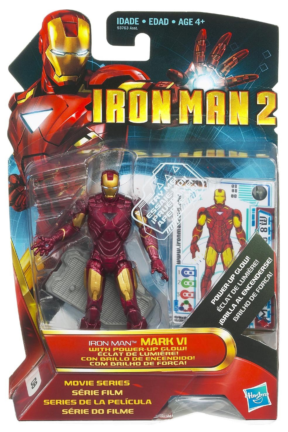 Marvel avengers Titan Hero Series 12-Inch ACTION FIGURE-Noir /& Or Iron Man
