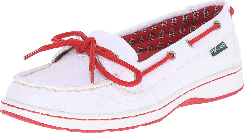 Eastland Women's Sunset MLB Cardinals Boat Shoe