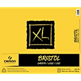"""Canson XL Series Bristol Smooth Pad, 14""""X17"""" Fold Over Bound"""