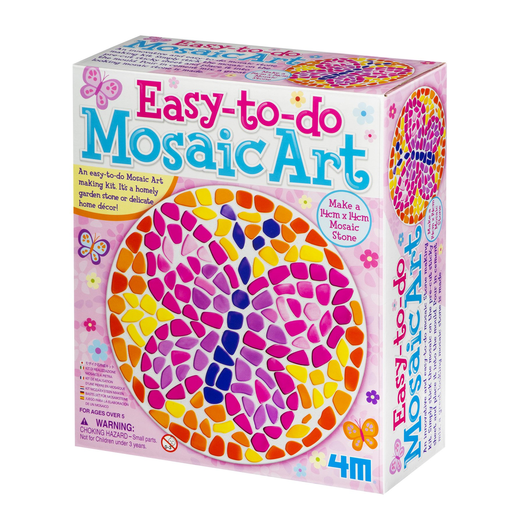 4M Easy-to-Do Mosaic Butterfly Kit