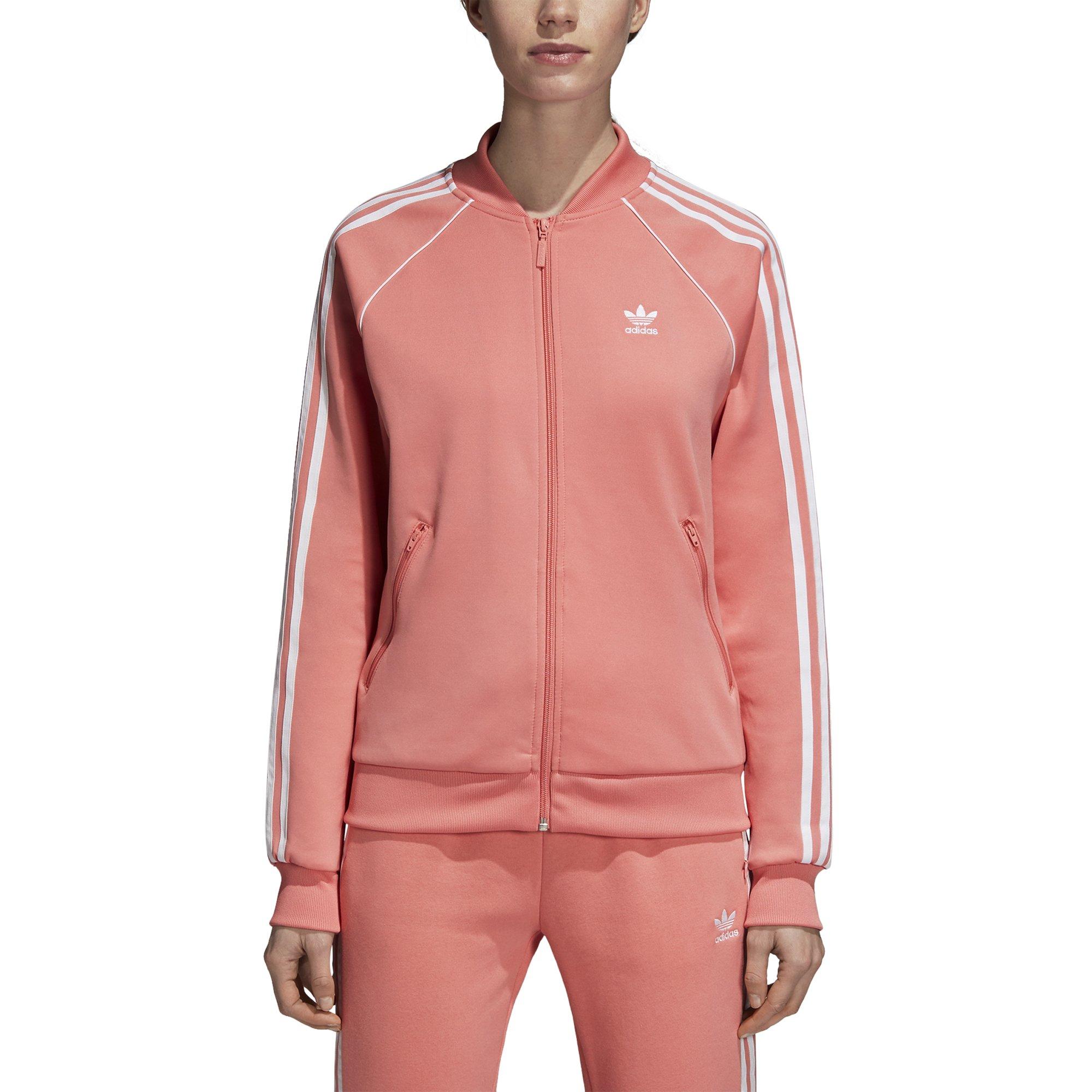 adidas Originals Women's Superstar Tracktop, Tactile Rose, L by adidas Originals (Image #5)