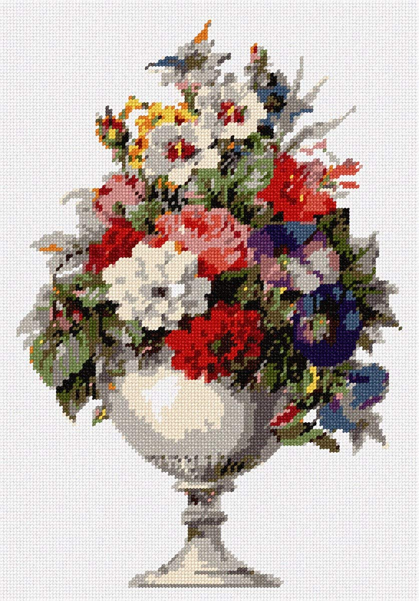 pepita Bright Bouquet (Large) Needlepoint Kit by pepita