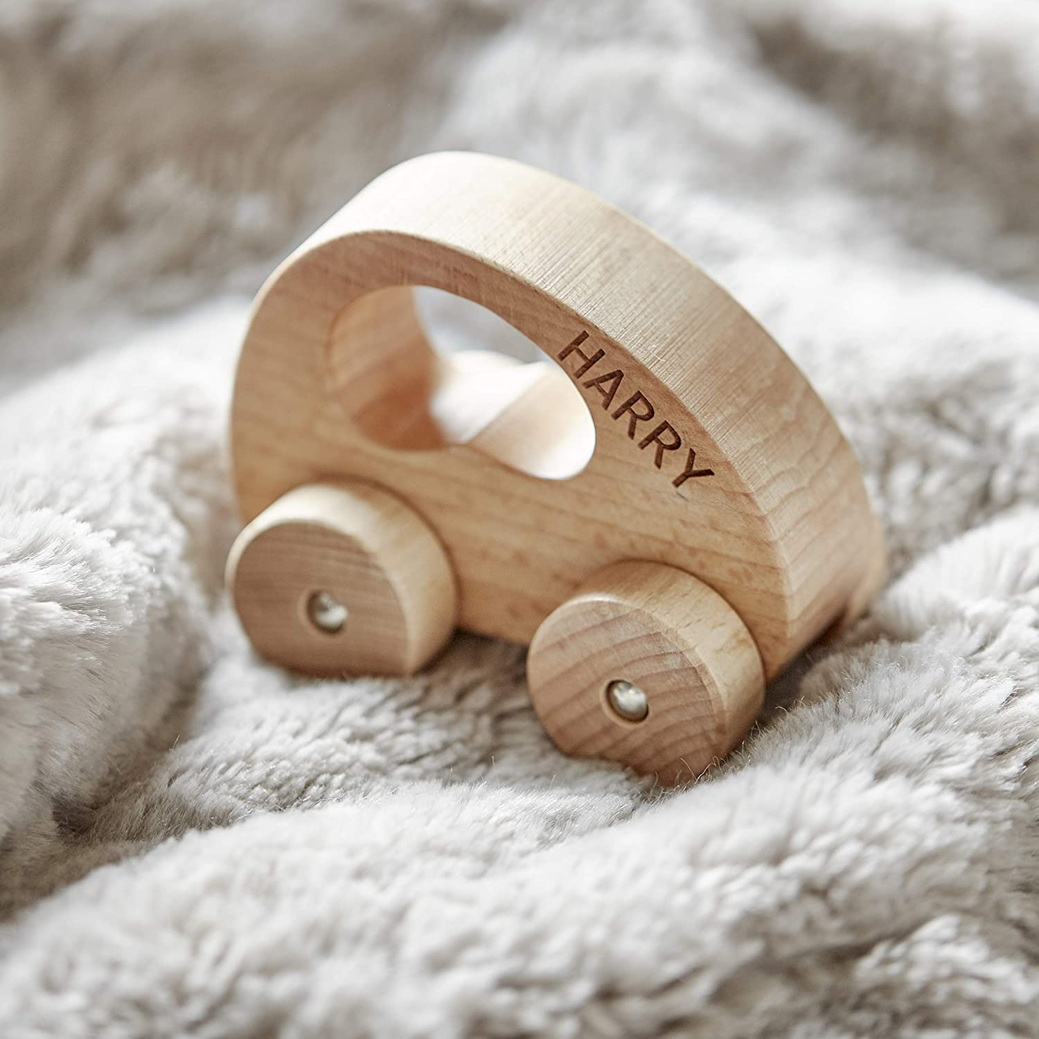Personalised Wooden Car Toy