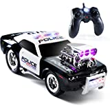 Prextex RC Police Car Remote Control Police Car RC Toys Radio Control Police Car Great Toys for Boys Rc Car with Lights and S
