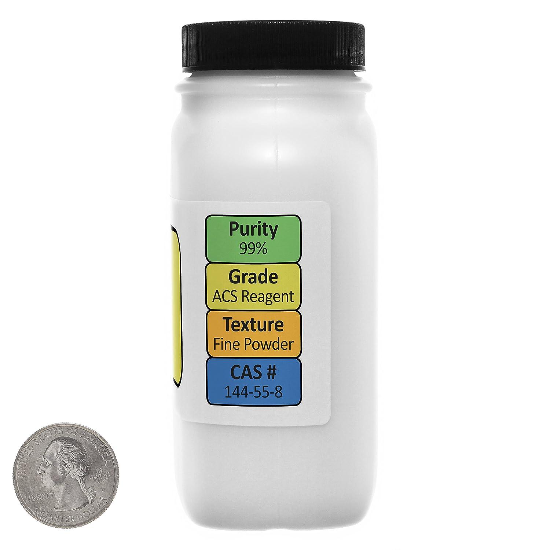 Amazon.com: Sodium Bicarbonate [NaHCO3] 99% ACS Grade Powder 1 Lb in Two Space-Saver Bottles USA: Health & Personal Care