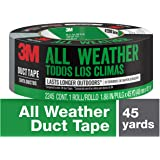 3M All-Weather Duct Tape, Grey, 1.88 in x 45 yd, 2245-A, 1 Roll
