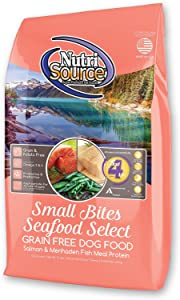 Nutri Source Grain Free Small Breed Seafood Select For Dogs, 5-Pounds