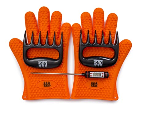 Review BBQ Gloves, Meat Claws