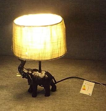 Tischlampe Elefant Amazon De Beleuchtung