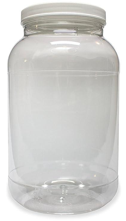 9e7048fee49 Amazon.com  1 Gallon Plastic Jar