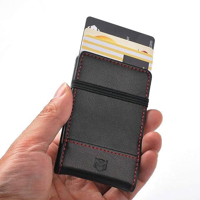 Amazon.com: Cartera minimalista para hombre con bolsillo ...