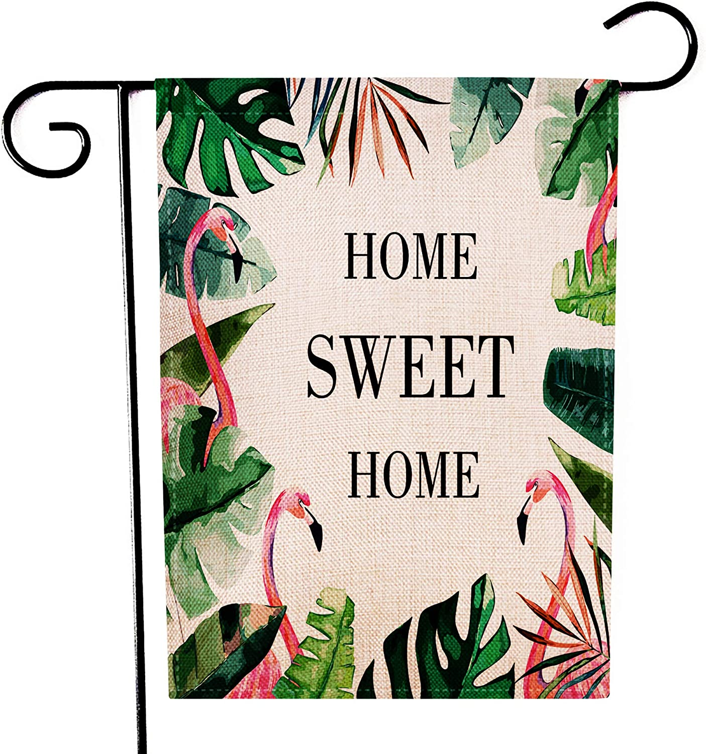 Amazon Com Ogiselestyle Home Sweet Home Garden Flag Hello