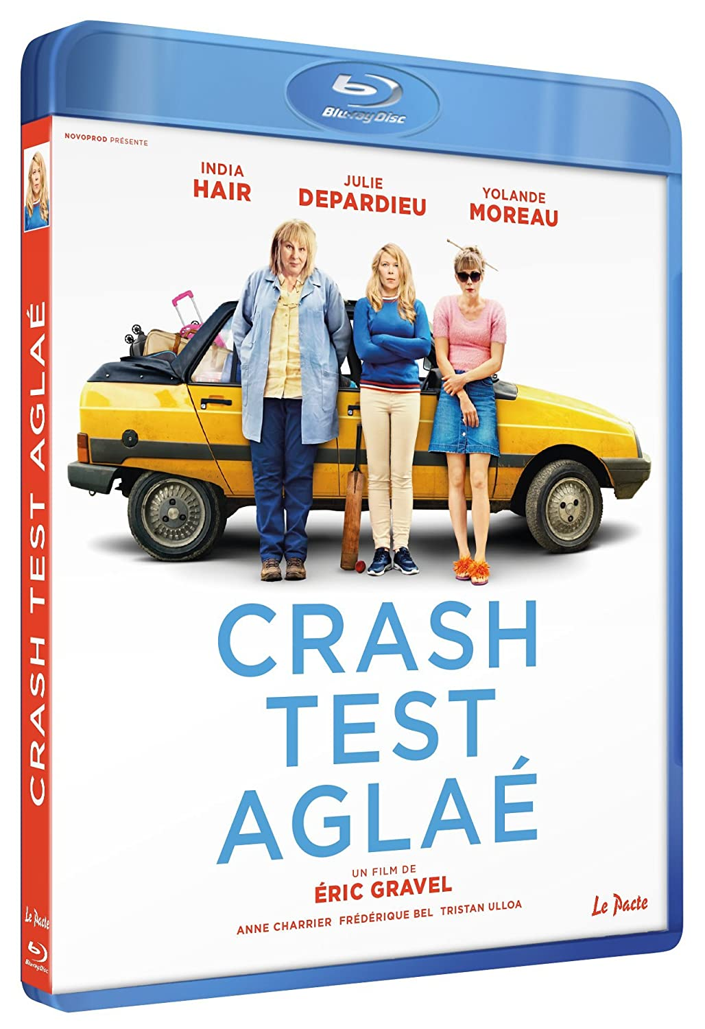 Blu-ray du film Crash test Aglaë