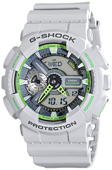 Casio Men s GA-110TS-8A3CR G-Shock Grey Watch  Casio  Amazon.ca  Watches 6681527f20