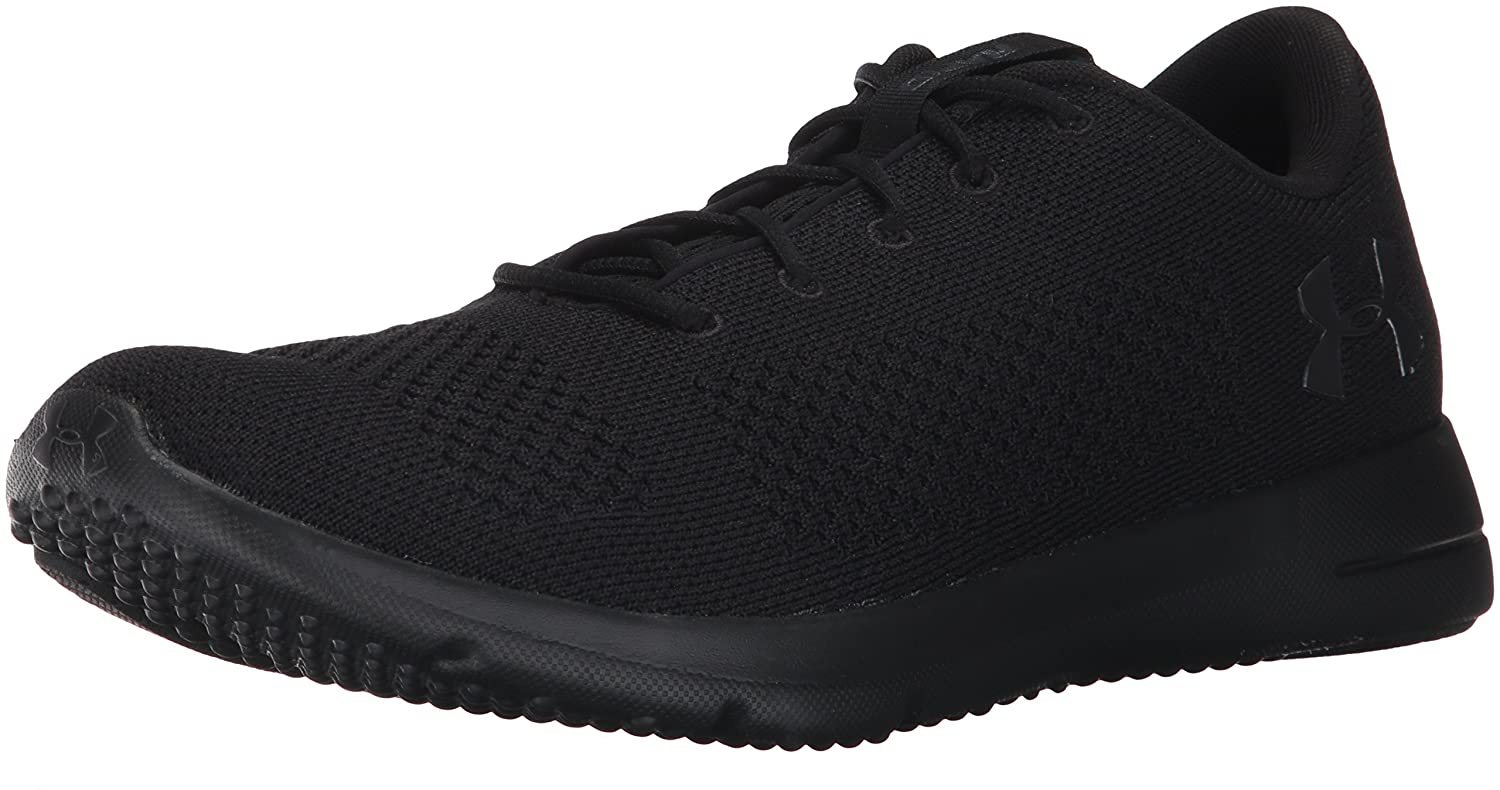 Under Armour UA Rapid, Zapatillas de Running para Hombre 40.5 EU|Negro (Black/ Black/ Anthracite (004) 004)
