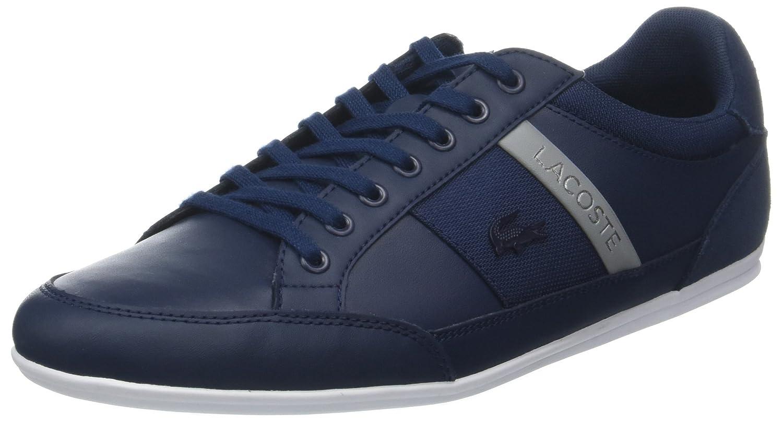 Lacoste Chaymon 318 3 Us CAM, Zapatillas para Hombre 39.5 EU|Azul (Nvy/Gry 178)