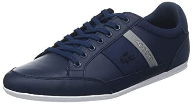 c19f7bab80fa Lacoste Men s Chaymon 318 3 Us Cam Trainers Blue (NVY Gry 178) 9.5 ...