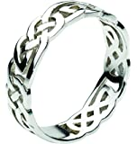 Heritage Women's Sterling Silver Celtic Open Knotwork Ring