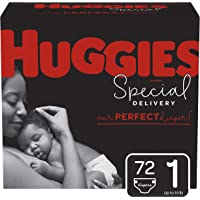 Amazon Price History:Huggies Special Delivery Hypoallergenic Baby Diapers, Size 1, 72 Ct